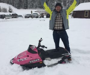 mini-snowmobile